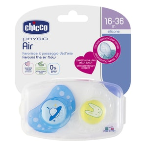Chicco Physio Air Soother 16-36m 2pk - Boy