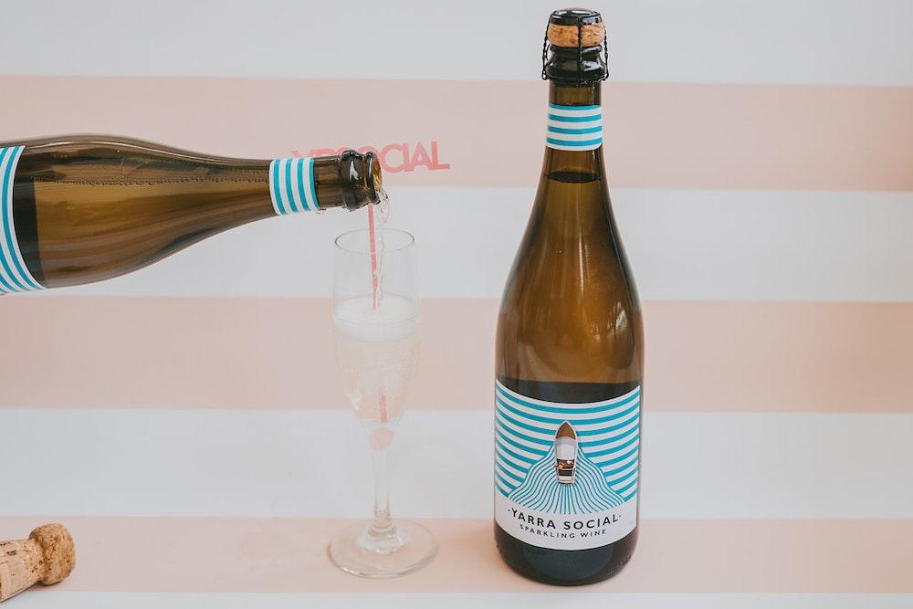 Yarra Burn Social Sparkling Wine LENZO