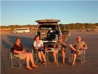 Sundowners  Ken and Maureen Hay and friends  Cable Beach Broome