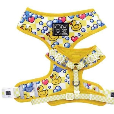 Big & Little Dogs Rubber Ducky Adjustable Harness