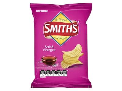 Smith's Crinkle Cut Salt & Vinegar Potato Chips 170g