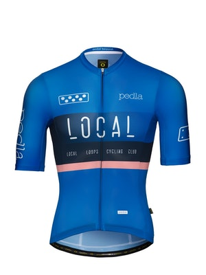Pedla Team / LunaLUXE Jersey - Process Blue