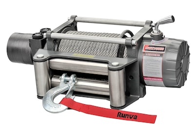 Runva HWX12000 12V with Steel Cable