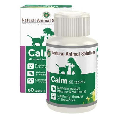 NAS Natural Animal Solutions Calm 100ml / 60 Tabs