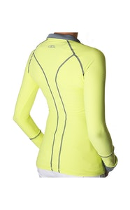 GhoDho Alia Performance Shirt Upf50+ Lemon Lime