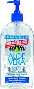 Fruit of the Earth Aloe Vera Gel Pump Moisturising Skin Care 510g