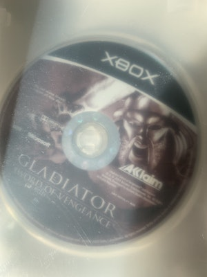 Gladiator : Sword of Vengeance Original Xbox *MINT DISC* *Like New* (disc only + with blank case)