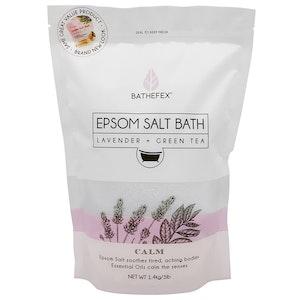 Bathefex Epsom Salt Bath Calm Lavender + Green Tea 1.4kg