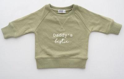 Daddy's Bestie Sweater - Sage