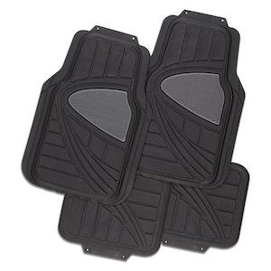 Galaxy 4-Piece Car Mat - Black [Rubber]