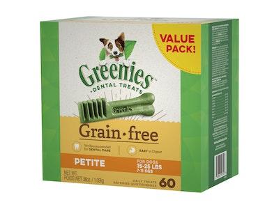 Greenies Value Pack Grain Free Dog 1kg Petite
