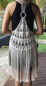 Wildchase Crochet Tassel Vest