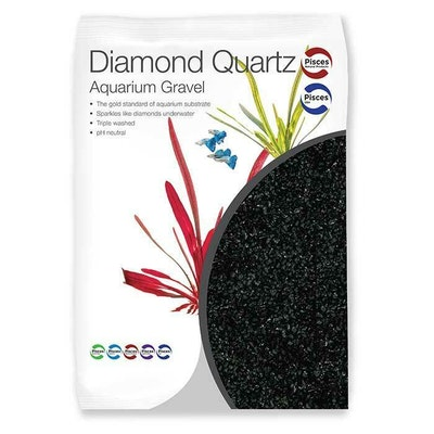 PNP Diamond Black Quartz Gravel 2Kg