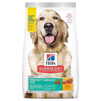 Hills Hill's Science Diet Perfect Weight Adult Chicken Dry Dog Food
