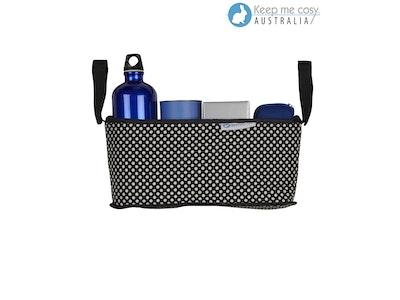 Keep Me Cosy™ Pram Organiser or Cup & Phone Holder - Ink Spot