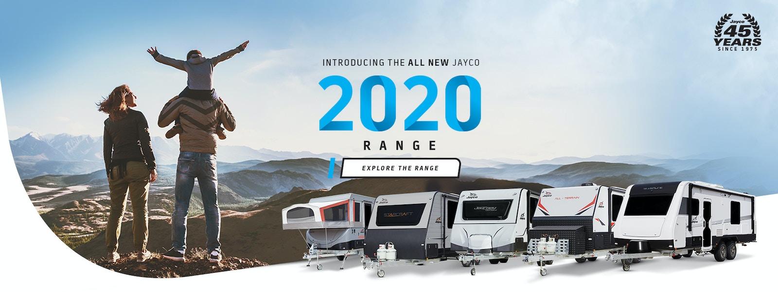 Jayco 2020 Range