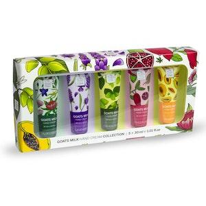 The Australian Cosmetics Company Goats Milk Hand Cream Collection 30ml x 5