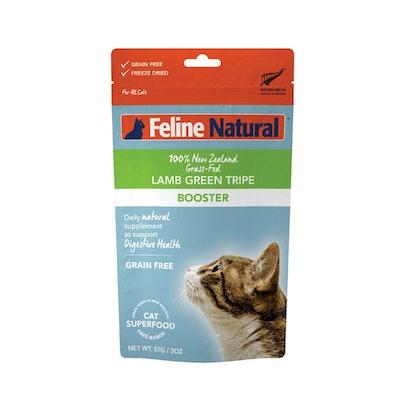 FELINE NATURAL Lamb Tripe Booster 57G