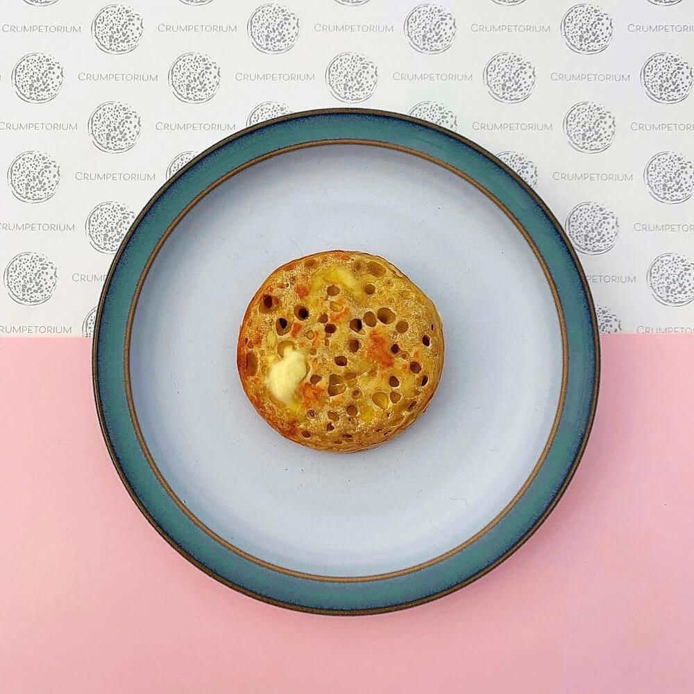 Crumpetorium Savoury Crumpet Box: Cheese + Original Handmade Crumpets