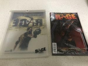 Rage comics x 3 - sealed, plus sleeve