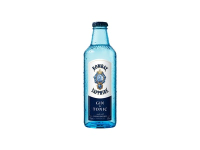 Bombay Sapphire Gin & Tonic Bottle 275mL