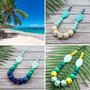 Marli & Me™ INDIE silicone necklace | TROPIC collection