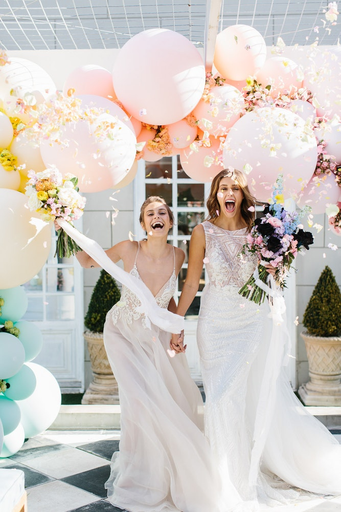 Party with LENZO Marriage Equality Editorial