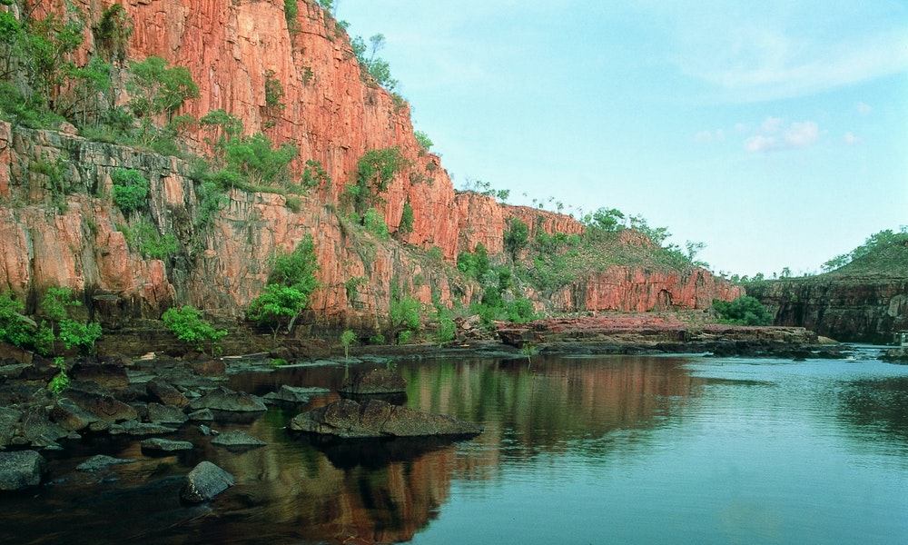 the stunning landscape of the savannah way NT