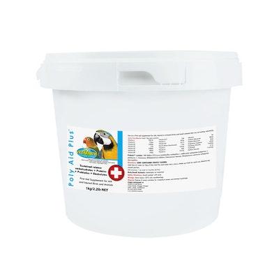 Vetafarm Poly-Aid Plus Supplement for Sick Injured Birds & Animals - 4 Sizes