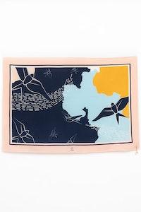 1 People Amelia Earhart Silk Le Petit Scarf