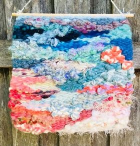 Sunset at Dusk Woven Wall Hanging