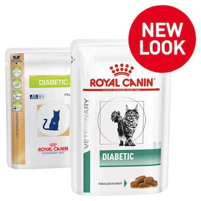 Royal Canin VET Diabetic Pouch Wet Cat Food 85G