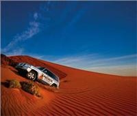 Simpson crossing celebrations for Nissan Patrol owners in Birdsville