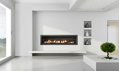 Mezzo Gas Fireplace by Heat & Glo