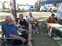 These Park Lane Traralgon guests told GoSeeAustralia they came to see the Crows  play and just kept on driving