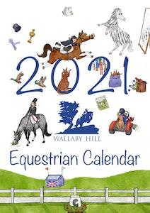 Wallaby Hill WH 2021 Equestrian Calendar