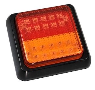 LED Stop/Tail/Indicator Lights 12 / 24v 100x108mm Pair