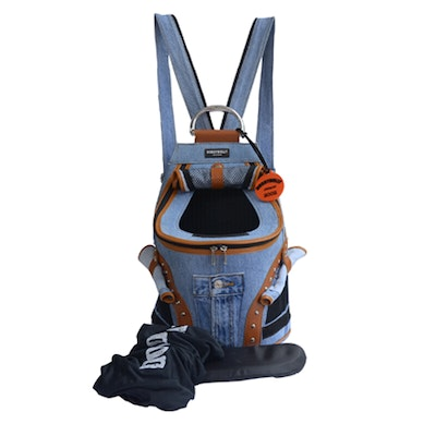 DoggyDolly Small Denim Backpack Carrier