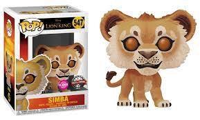 Funko Pop! Vinyl The Lion King: Simba Flocked #547