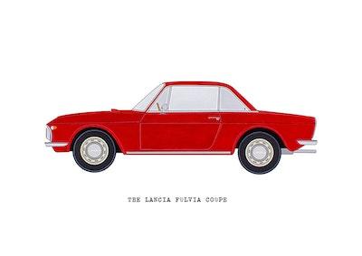 The Lancia Fulvia Coupe