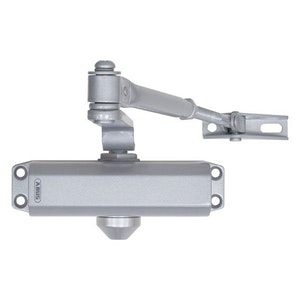 ABUS Standard Arm Closer Size 2-3 Adjustable Arm Finished in Silver