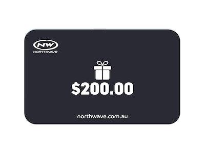 $200 Northwave Australia e-Gift Card