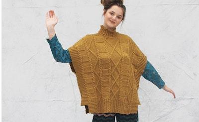 Signatur Knitting Kit Fan, Diamond Tunic