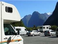Parking at Milford Sound was easy but remember there is no Petrol Station