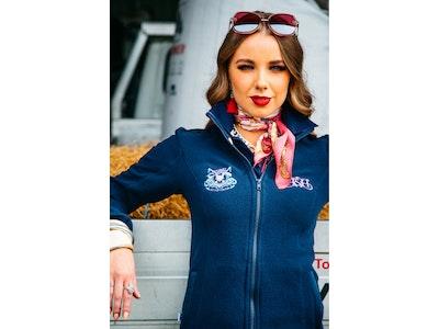 Hitchley & Harrow J16 Navy Polar Fleece Jacket