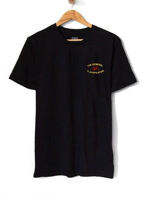 The General Classification Stitched Median Bicycle Tee Black