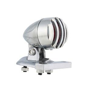 Prison LED Mini Rear Brake Light - Chrome