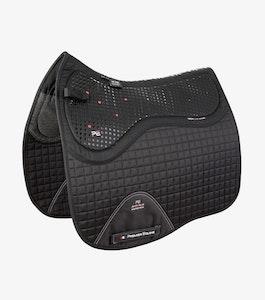Premier Equine Close Contact Tech Grip Pro Anti-Slip Saddle Pad - Dressage Square