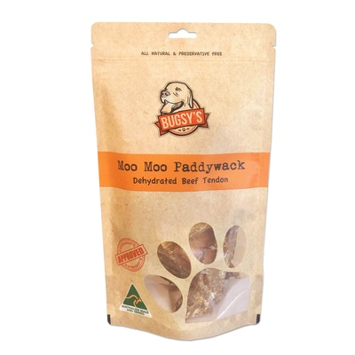 Bugsy's Pet Supplies HEALTHY SNACKS | Dehydrated 'Paddywack' Beef Tendon