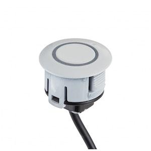 Echomaster Universal White Rear Parking Sensor Kit